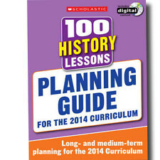 100 History Lessons Planning Guide 2014 Curriculum CD-ROM Studybook Year 1-6 New