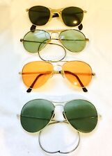 VINTAGE Lot of 5 Retro AVIATOR PILOT LOOKING  SUNGLASSES AS-IS-AS-SHOWN