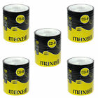 500 CDR MAXELL BLANK DISCS CD-R RECORDABLE CD 700 MB-80 MIN 52x SHRINK WRAP