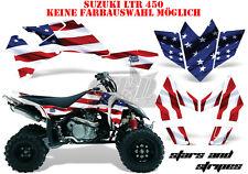 AMR Racing DECORO GRAPHIC KIT ATV Suzuki LTR 450 LT-R Stars N STRIPES B