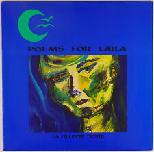 "12"" LP - Poems For Laila - La Fillette Triste - k5057 - washed & cleaned"