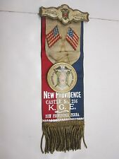 VINTAGE KNIGHTS OF THE GOLDEN EAGLE NEW PROVIDENCE CASTLE NO. 236