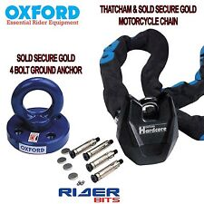 OXFORD ROTAFORCE ANCHOR & HARDCORE XL MOTORCYCLE THATCHAM APP 1.5M CHAINLOCK
