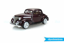 1939 Chevrolet Master Coupe Classic Maroon 1:24 scale die-cast model hobby car