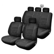 Housses de Siège Noir 1/2 1/3 2/3 pour Toyota Hilux Combi 5 places - 1751