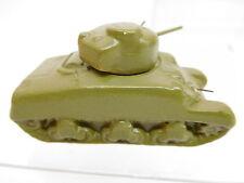 MES-50776 Alter Goebel Keramik Panzer L:ca. 62mm,mit kleinem Farbschaden am MG