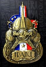 HARD ROCK CAFE / France Cut Off Guitar Series Flag 2015 / 3D / LTD.100 Pin / V1