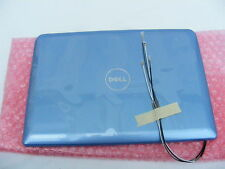 NEW DELL T633R INSPIRON MINI 1011 ICE BLUE LCD BACK COVER .
