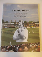 Dennis Amiss Book 1984, cricket, signed by Amiss & Author, Warwickshire  /EB80BY