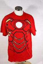 Jerzees Red Iron Man Logo Large Tshirt 015