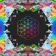 COLDPLAY A HEAD FULL OF DREAMS CD ALBUM (Released December 4th 2015)