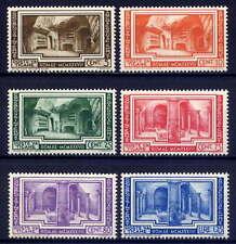 VATICAN Sc#55-60 1938 Archaeological Congress MNH