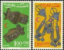 Morocco 1967 Red Cross/Medical/Health/Welfare/Jewellery 2v set (n32517)