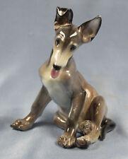 Schäferhund hundefigur Rosenthal figur  welpe Kärner deutscher schäferhund