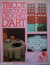 catalogue ancien Tricot sélection crochet d'art n° 60 - 1982