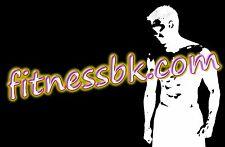 Premium Domain Name FITNESSBK.COM  fitnessbk.com   best for fitness WEB site !!!