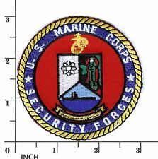 USMC Marine Corps Security Forces smaller 3-inch PATCH Marines ! RARE Chesapeake