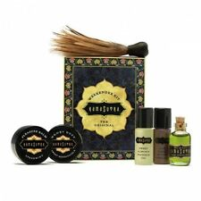 Kama Sutra The Original Weekender Kit Massage Oil of Love Honey Dust Feather