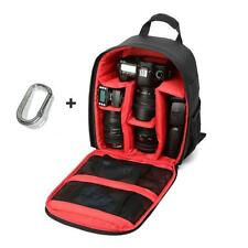 Soft Interio Camera Bag Backpack Waterproof DSLR Case with Carabiner for Canon