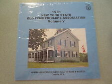 1981 New York State Old Tyme Fiddlers Volume 5 NIP Bluegrass Fiddle