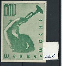 wbc. - CINDERELLA/POSTER - CE53 - EUROPE- WERBE WOCHE