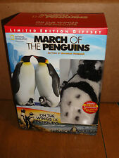 March of the Penguins/On the Wings of Penguins (DVD) 2-Disc Set! Limited Edition