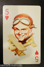 Politicard William Proxmire Senator of Wisconsin 5 of Hearts Playing Card 1971