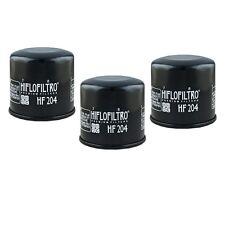 Oil Filter 3-Pack for KAWASAKI 2008-16 TERYX 4 750 TERYX 4 800 HF204
