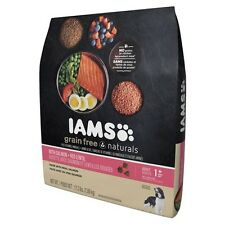 Iams Grain Free Naturals Dry Dog Food Salmon & Red Lentils 17.2 lbs