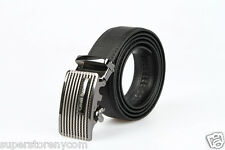 100% Genuine Leather Cavalli Bianchi Fashion Dress Auto Lock Buckle Mens Belt