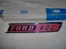1967 Ford F-600 Truck Hood Side Ornament, NOS C7TZ-16720-E