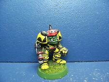 RAR! Alter Ork Boss in Megarüstung / eavy Armour der Space Orks BEMALT 11