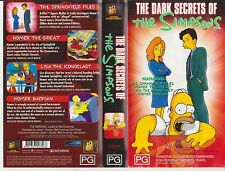 Vhs * The Simpsons - Dark Secrets Of  * Late 90's Cult - 4 Full Length Episodes