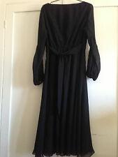 Donna Karan black silk dress
