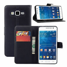 HOUSSE ETUI COQUE CUIR LUXE PORTEFEUILLE A RABAT SAMSUNG GALAXY GRAND PRIME