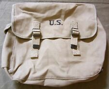 WWII US AIRBORNE PARATROOPER M1936 M36 MUSETTE JUMP BAG-OD#3