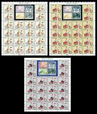 Postman's Uniform  Malaysia 2012 Vehicle Bicycle Motorcycle (stamp sheet) MNH