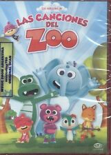 DVD LOS VIDEOCLIPS DE LAS CANCIONES DEL ZOO SEALED NEW SONGS FOR KIDS IN SPANISH