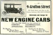 1909 9 Grafton Street New Engine Cars Showrooms And Garage Ad