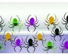 100ft Foil Halloween String Decoration Spiders Party Horror