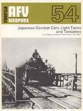 AFV Weapons Profile 54 - Japanese Combat Cars Light Tanks e Tankettes - DVD