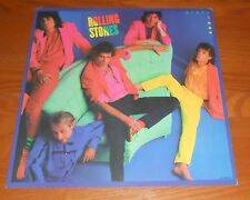 Rolling Stones Dirty Work Poster 2-Sided Flat Square 1986 Promo 12x12