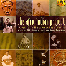 The Afro-Indian Project: Travels w/ African Kora in India CD RAVI Ramzy LIKE NEW