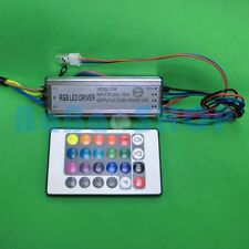 20W Waterproof AC 85V-265V Power Driver Supply for RGB LED Light +Remote control