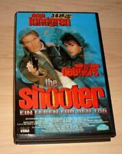 VHS - The Shooter - Dolph Lundgren - Videofilm - Videokassette