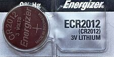Energizer ECR 2012 CR 2012 Lithium 3V Battery Braned New Authorized Seller