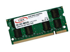 2 GB notebook memoria RAM 533 MHz così DIMM DDR2 PC2-4200S 200 pin CSX