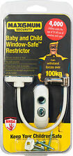 2 x Max6mum  Window and Door Restrictor -  Child Baby Safety Security