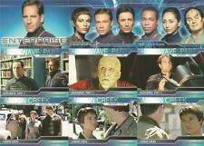 Star Trek Enterprise Season 2 Full 81 Card Base Set of Trading Cards - New