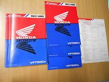 Manuel d'atelier Livre de l'atelier Honda VF 750 C p RC43 ab 93 + 3 Suppléments